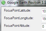 Google Earth Position