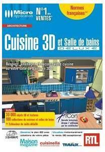 Logiciel cuisine et salle de bains 3d deluxe logiciel 3d for 3d cuisine deluxe