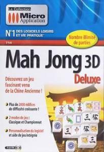 Logiciel mahjong mah jong 3d deluxe logiciel 3d for 3d cuisine deluxe