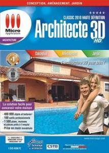 Logiciel maison architecture 3d architecte classic 2010 for Architecte 3d 2010