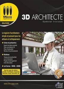 logiciel maison architecture 3d architecte sp cial. Black Bedroom Furniture Sets. Home Design Ideas