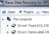 Raise Data Recovery for HFS+