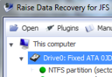 Raise Data Recovery for JFS