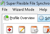 Super Flexible File Synchronizer
