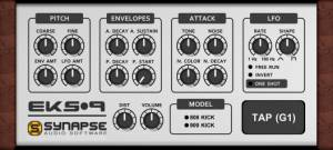 EKS-9 (Electronic Kickdrum Synthesizer)