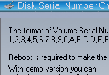 Disk Serial Number Changer