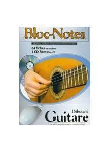 Logiciel apprendre guitare : Bloc-notes guitare - gratuit ...