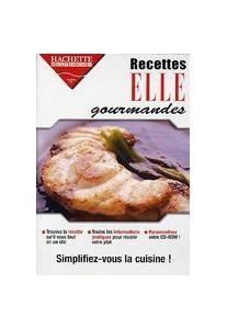 logiciel cuisine : 1000 recettes faciles elle gourmandes